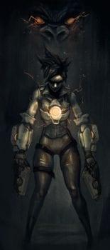 Tracer, Overwatch, Dark Souls