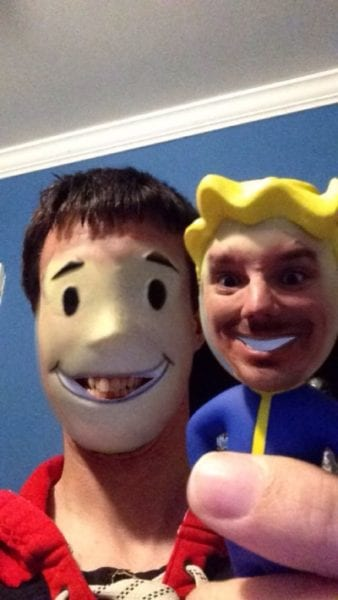 Fallout, Vault Boy, Face-Swap, image, terrifying,