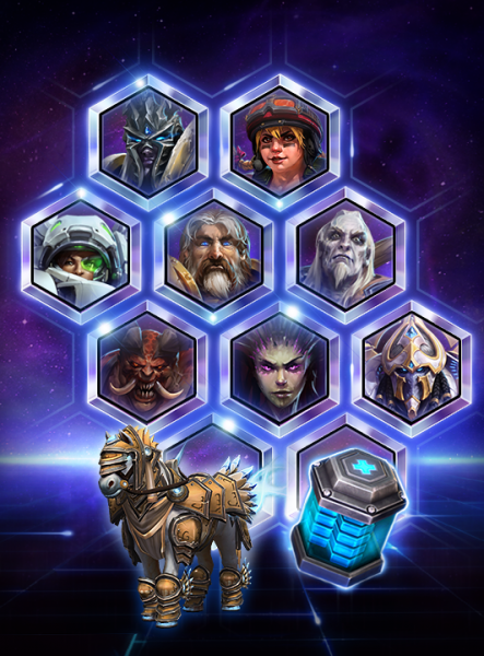 Heroes of the Storm, Anniversary Bundle, Blizzard