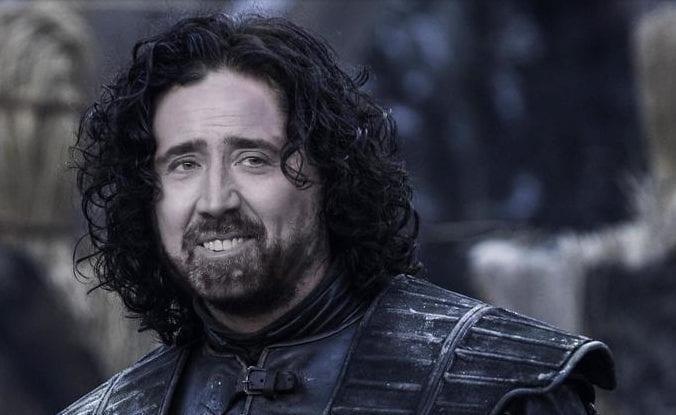 Nicolas Cage Game of Thrones