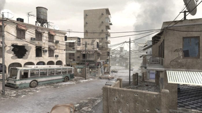call of duty modern warfare maps crossfire