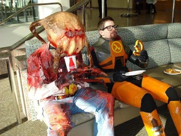 half life cosplay