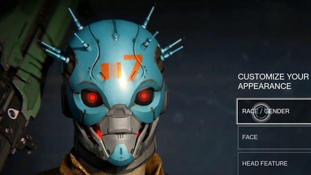 destiny character creation