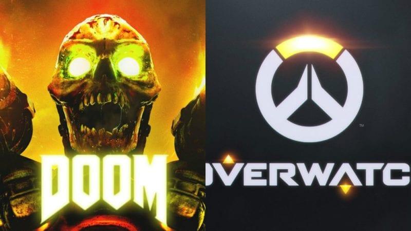 doom vs overwatch