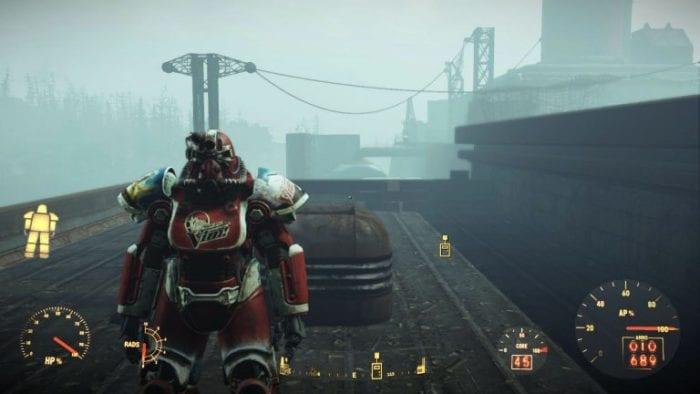 fallout 4 VIM power armor