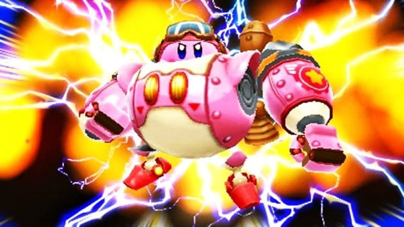 kirby robot planet