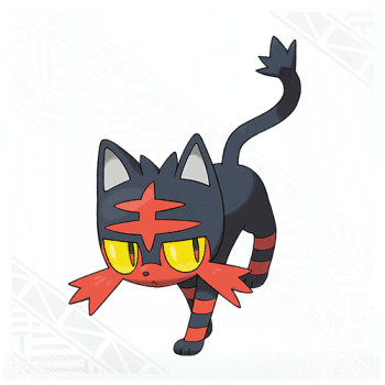Litten Pokemon Sun and Moon