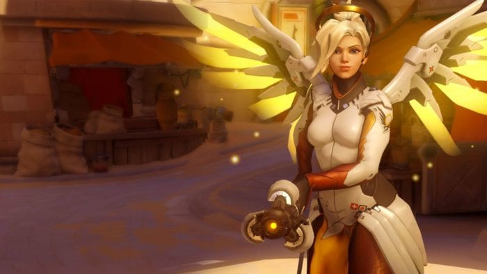 mercy, Overwatch, all heroes
