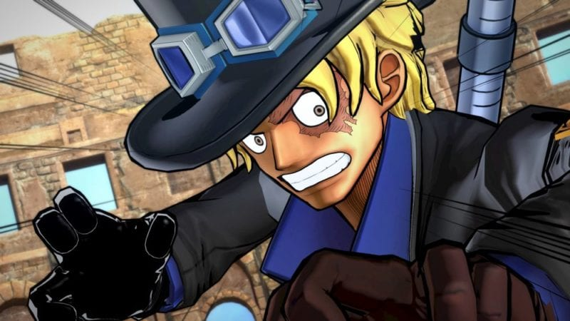 one piece burning blood sabo