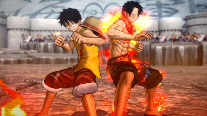 burning blood, one piece