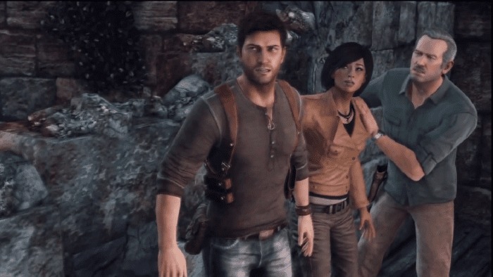 uncharted nathan, chloe, sully