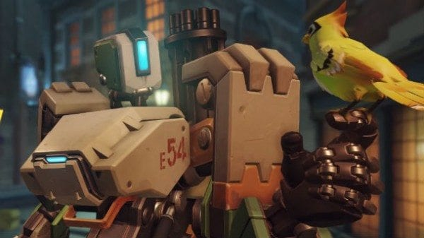 Overwatch, all heroes, bastion