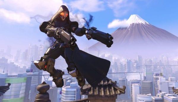 Overwatch, all heroes, reaper