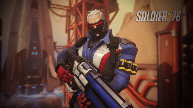 2) Soldier: 76