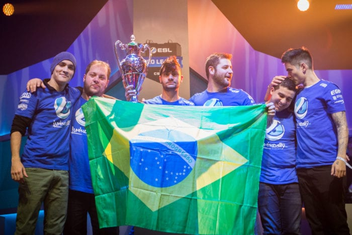 ESL Pro League Champions Luminosity
