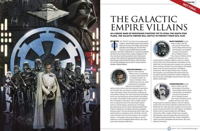 rogue one story guide bios empire