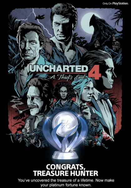 Uncharted 4, Platinum