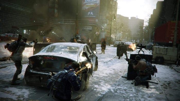 the division combat