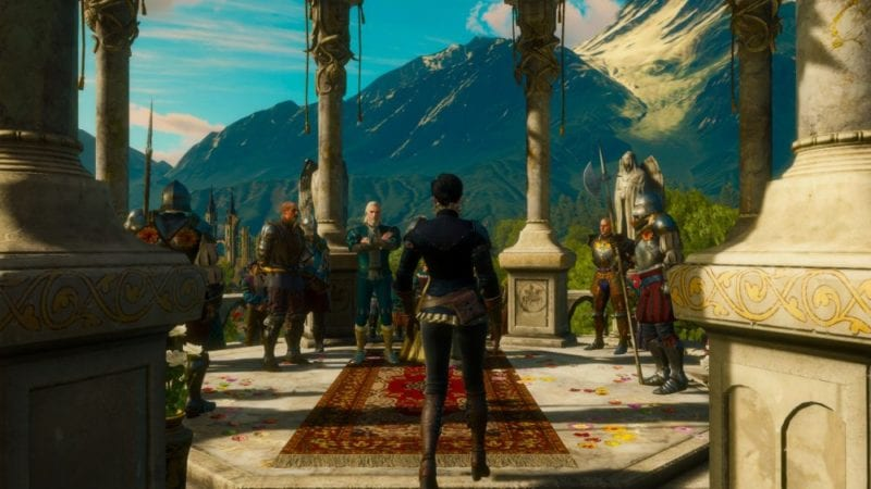 the witcher 3 blood and wine ending