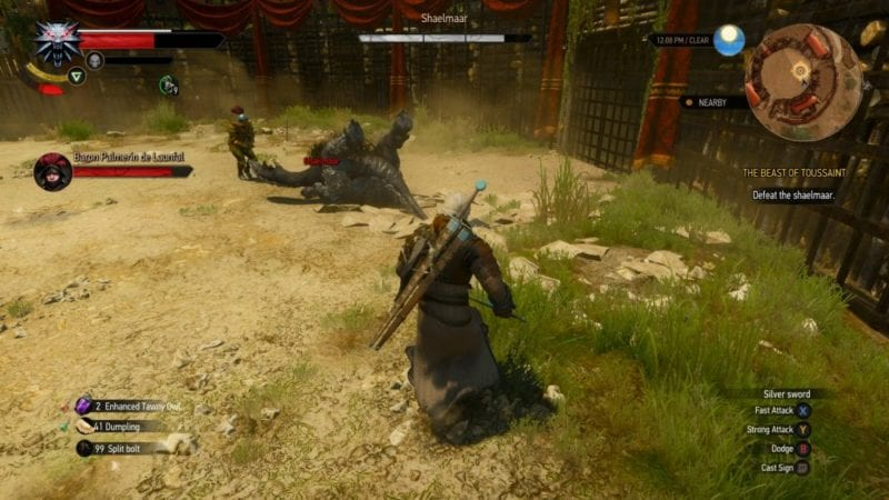 the witcher 3 blood and wine shaelmar flipped
