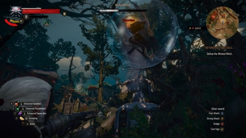 the witcher 3 blood and wine wicked witch bubble