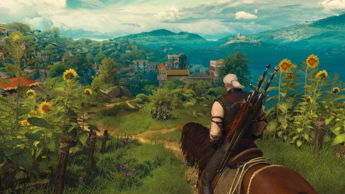 Blood and Wine, witcher 3, portal, easter egg