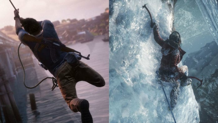 uncharted 4 v rise of the tomb raider