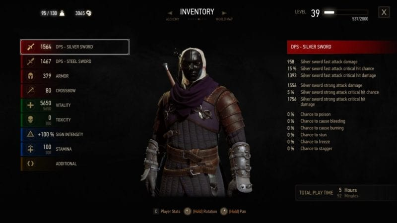 witcher 3 blood and wine dyed armor