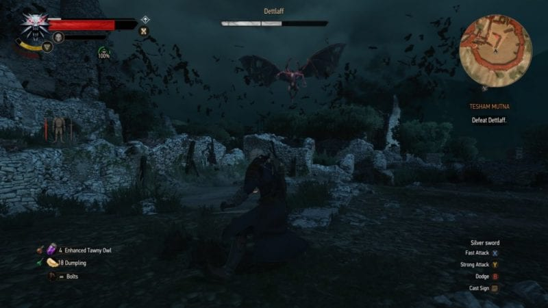 witcher 3 blood and wine flying detlaff beast of beauclair