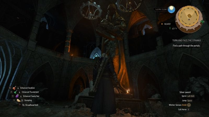 witcher 3 blood and wine portal puzzle