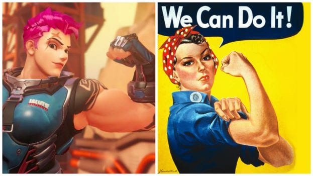 Zarya--Rosie the Riveter