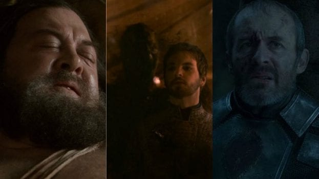 Robert Baratheon, Renly Baratheon, Stannis Baratheon
