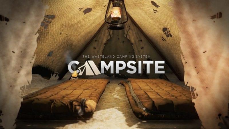 Fallout 4 campsite