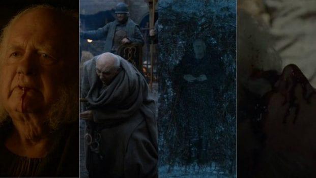 Maester Cressen, Maester Luwin, Maester Aemon Targaryen, Grand Maester Pycelle