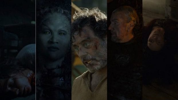 Osha, Leaf, Ray, Brynden Tully, Lady Crane