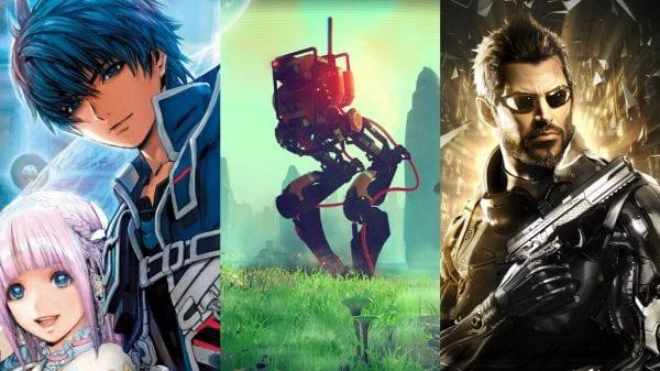 Best, Games, summer, star ocean v, no man's sky, deus ex