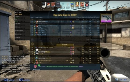 Counter Strike: Global Offensive, Rank Up