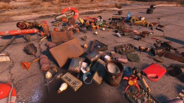 Fallout 4, junk, mods