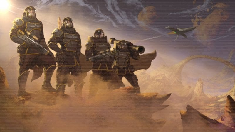 helldivers, ps4, co-op, four-player
