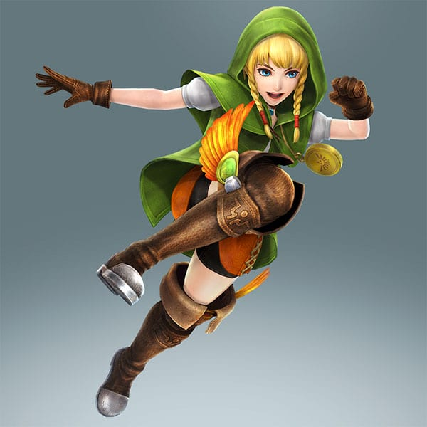 Hyrule Warriors Legends_Linkle boots
