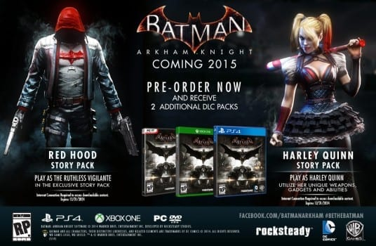 Batman: Arkham Knight - Harley Quinn/Red Hood Story Packs