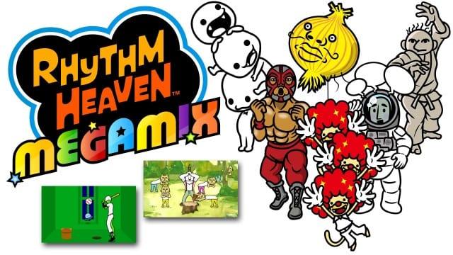 rhythm heaven megamix, 3ds, nintendo