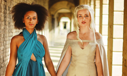 Missandei and Daenerys