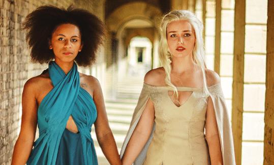 Missandei and Daenerys