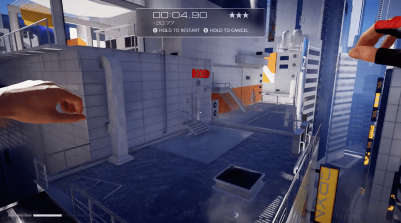 Mirror's Edge Catalyst, Time Trials