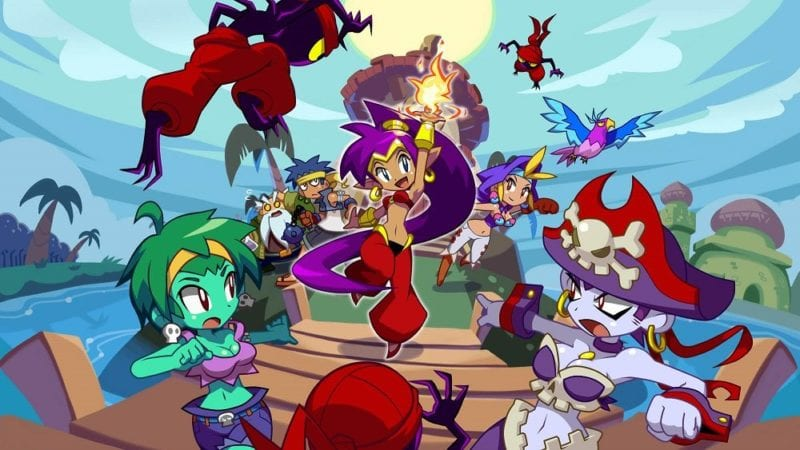Shantae Half Genie Hero banner