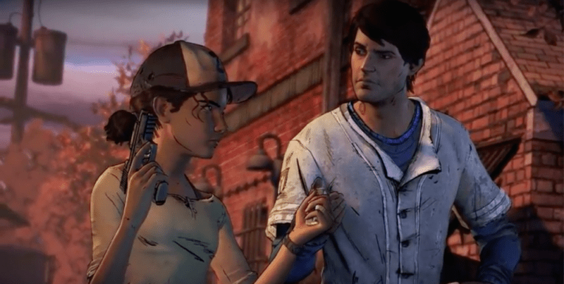 The Walking Dead, Season 3, Clementine, Javier