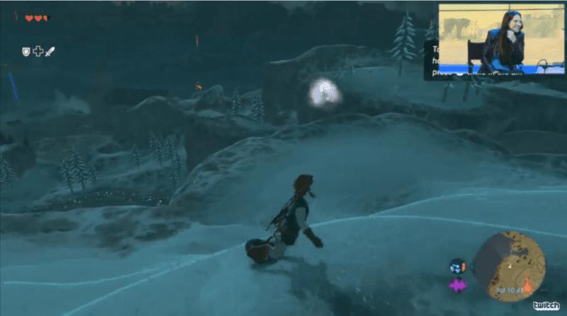 Zelda Breath of the Wild, Snowboarding