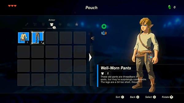 Legend of Zelda, breath of the wild