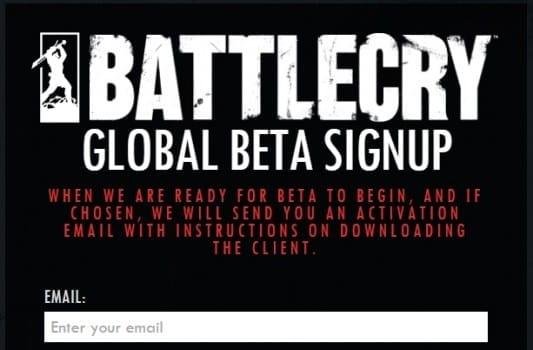 battlecry beta